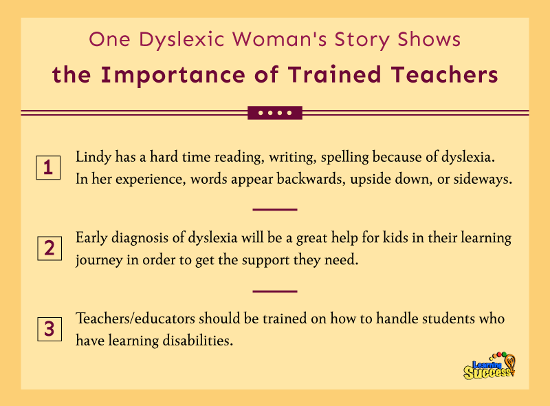 writing upside down learning disability