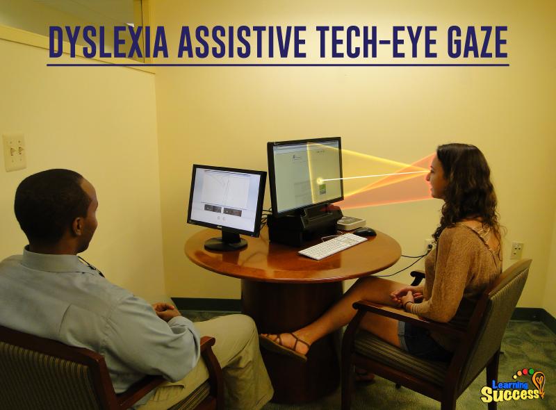 Eye Gaze: A New Technology Tool For Dyslexic Students