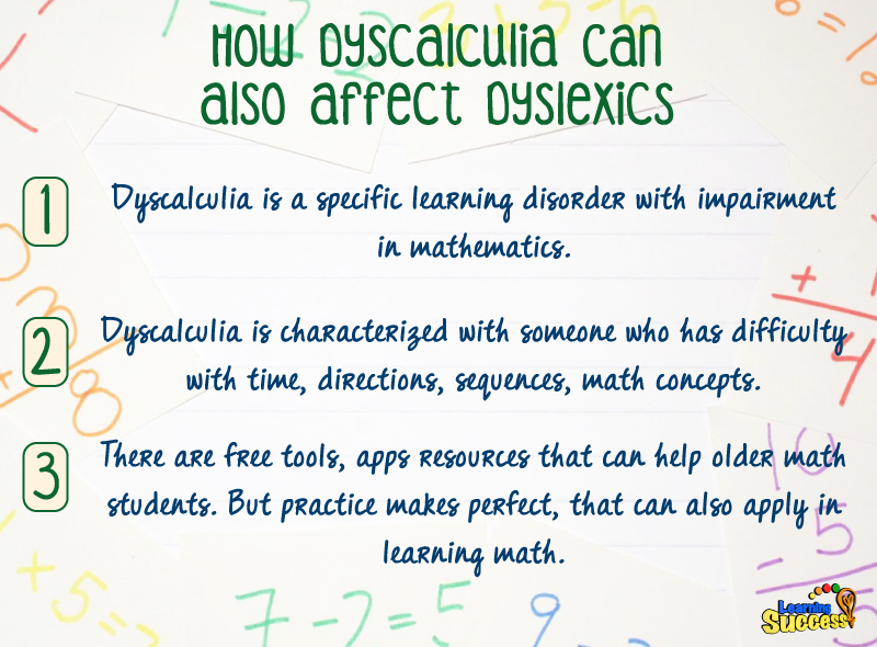 How Dyscalculia Can Also Affect Dyslexics