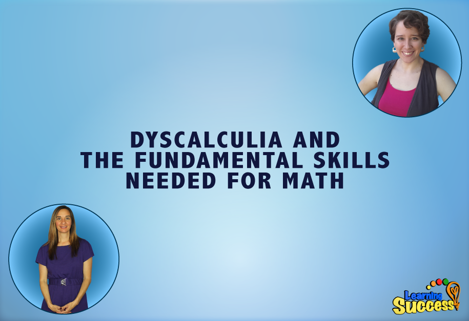 Episode 4 - Dyscalculia and the Fundamental Skills Needed