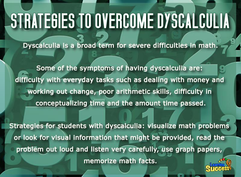 Strategies To Overcome Dyscalculia